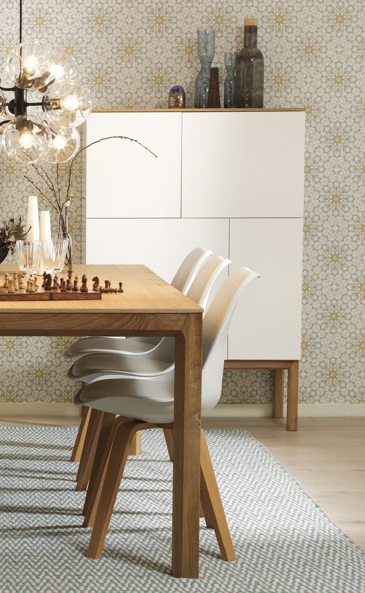 PATCH skåp, PORGY stol och TAGE lampa #SvenskaHem #Skåp #Pholc #LinieDesign