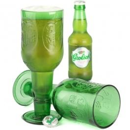 Bierglazen - Grolsch (2 stuks) bij Ditverzinjeniet.nl, € 24,95