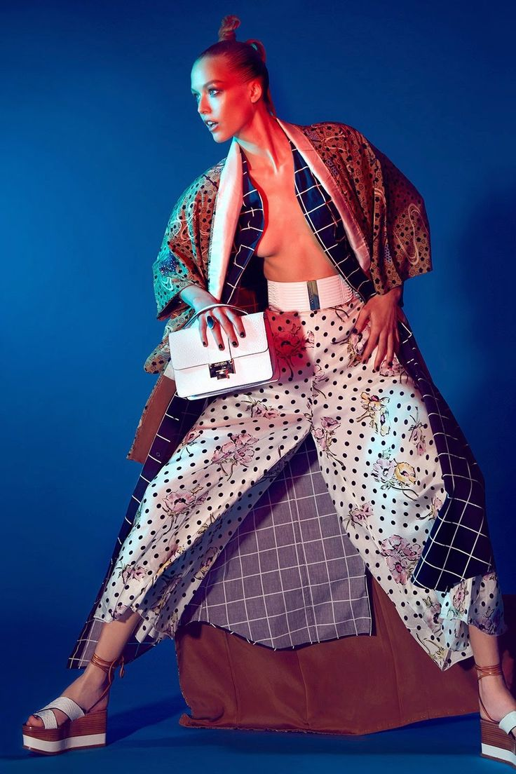 """Jap Mania"" by Jamie Nelson for Glamour Italia April 2015"