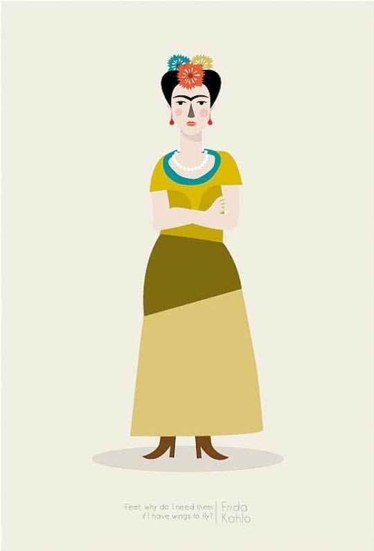 Frida Kahlo by Judy Kaufmann On the Wall