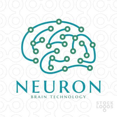 #logo Neuron Web Technology - #Purchase Unique logo in: http://stocklogos.com/user/rossini