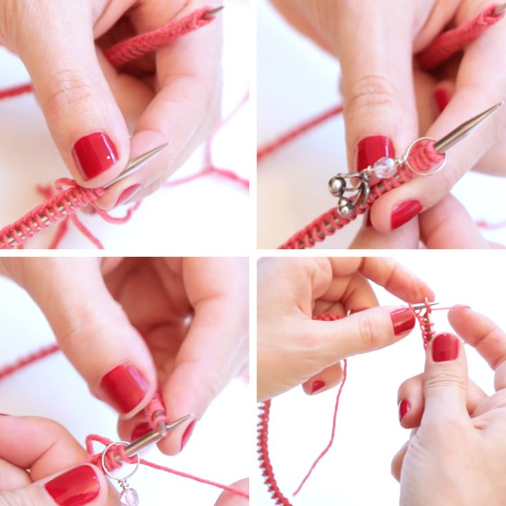 1000 id es propos de aiguilles circulaires sur pinterest tricot de c tes abeille en - Comment tricoter avec des aiguilles circulaires ...