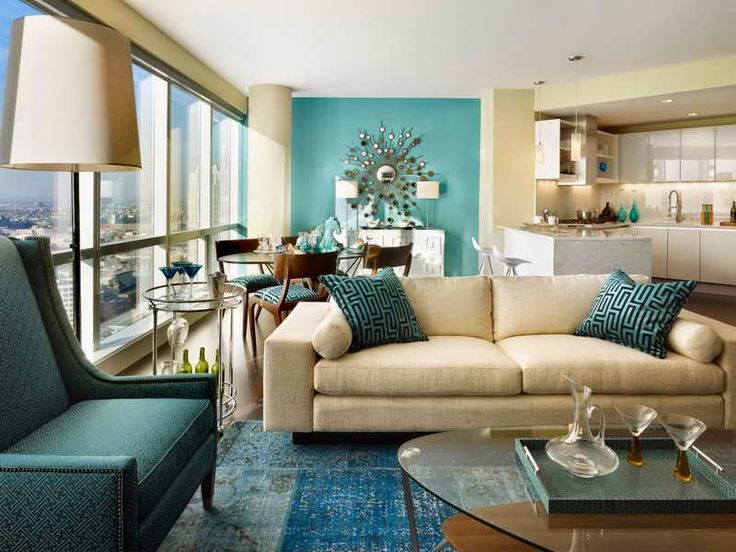 Elite Decor: 2015 Decorating Ideas With Blue Color · Living Room ...