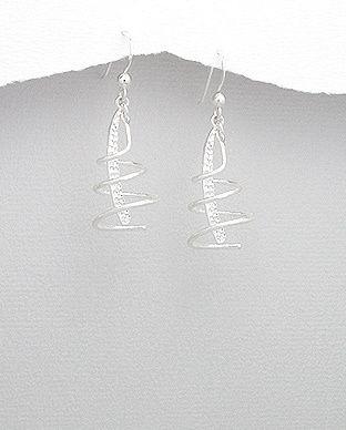 silver vogue - Stunning sterling silver earrings in matt look, $24.99 (http://www.silvervogue.com.au/stunning-sterling-silver-earrings-in-matt-look/)