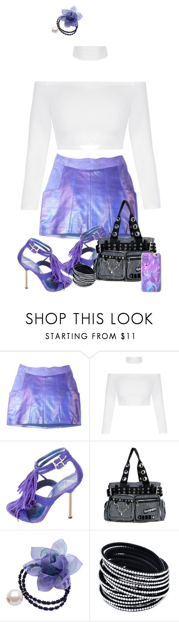 """""""Periwinkle Heels"""" by polishdiva1 ❤ liked on Polyvore featuring Eple & Melk, B Brian Atwood and Chicnova Fashion"""