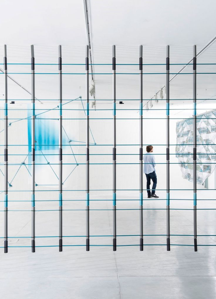 screens by bouroullec brothers at tel aviv museum of art