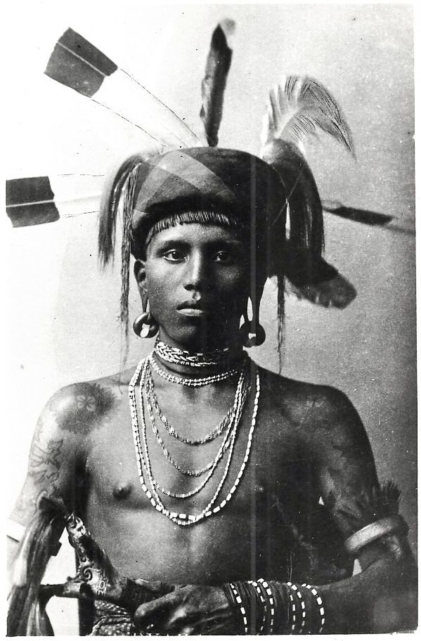 1930s Malaysia» Borneo Dayak Warrior