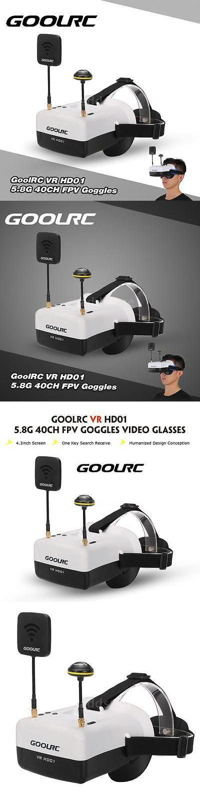 3D TV Glasses and Accessories: Goolrc Vr Hd01 5.8G 40Ch Duo Antennas Fpv Goggles Video Glasses B3h3 -> BUY IT NOW ONLY: $52.44 on eBay!