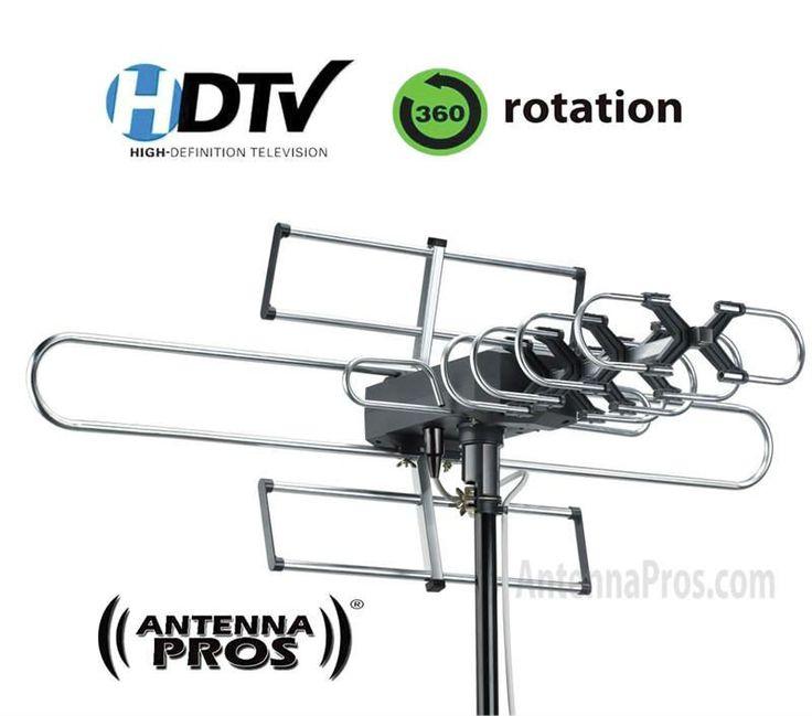 Antenna Pros Spectrum7 Outdoor HDTV Antenna with Motor Rotor DTV SP7