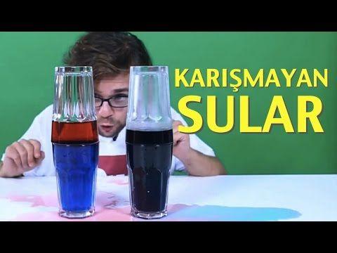 Sıcak Su ile Soğuk Su Neden Karışmıyor? - YouTube