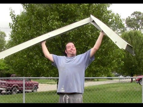 How to install replace gutters by yourself. Easy! Home Mender. - YouTube