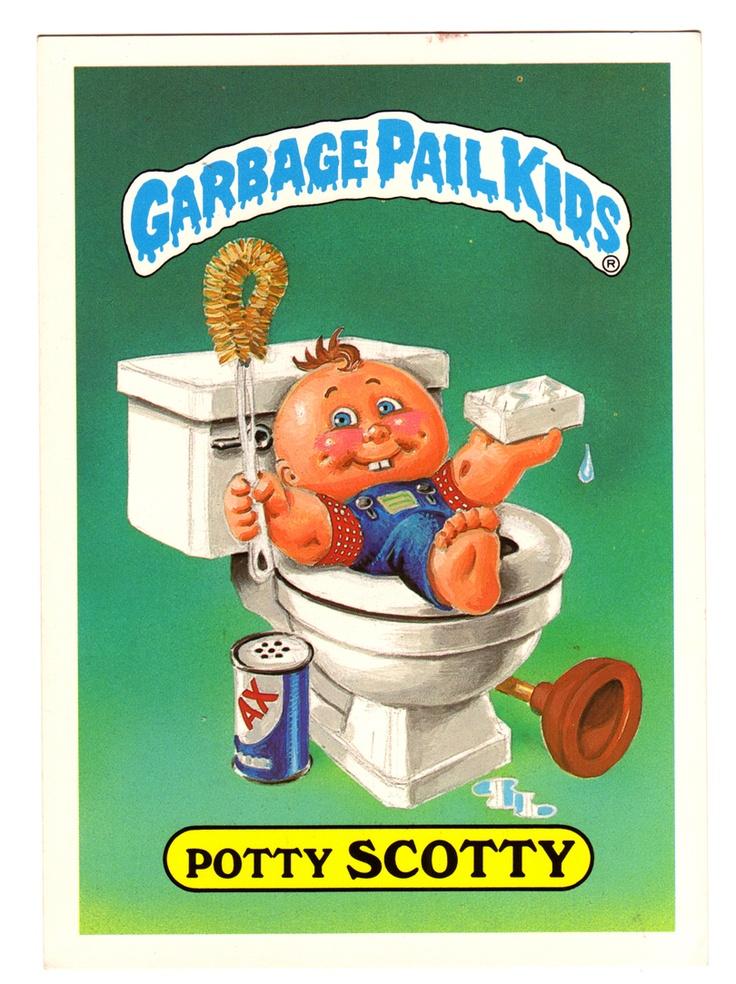 Garbage Pail Kids 80 39 S Baby Pinterest Kid The O