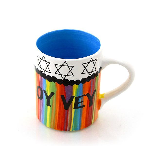 Oy Vey Mug Made in the USA | Jewish Holidays | Pinterest