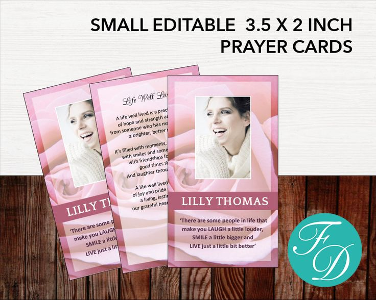 how to make prayer cards on microsoft word