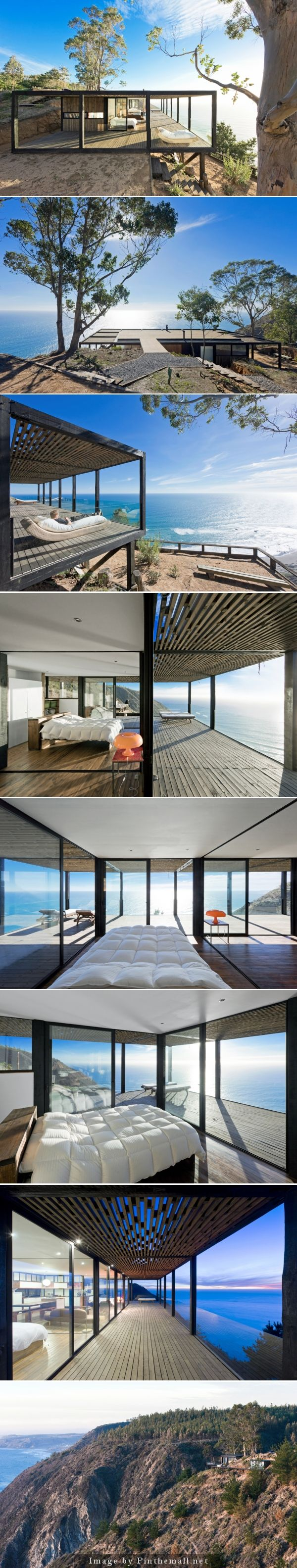 Casa Till, a new private home by WMR Arquitectos.   http://www.knstrct.com/architecture-blog/2014/4/13/casa-till-by-wmr-arquitectos - created via http://pinthemall.net