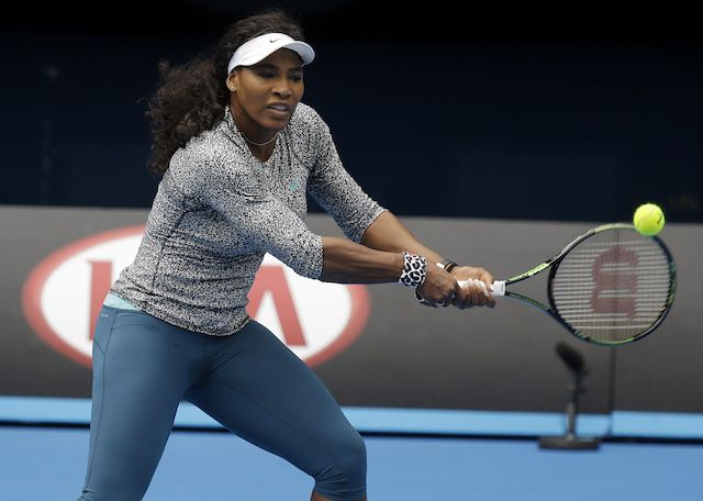 Monday marks the beginning of the Australian Open and also Serena Williams' 100th consecutive week as No. 1 in the Women's Tennis Rankings.