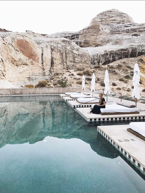 The best places to go for a girls trip- pool, mountains, sun loungers