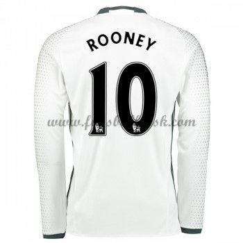 Premier League Fussball Trikots Manchester United 2016-17 Rooney 10 3rd Trikot Langarm