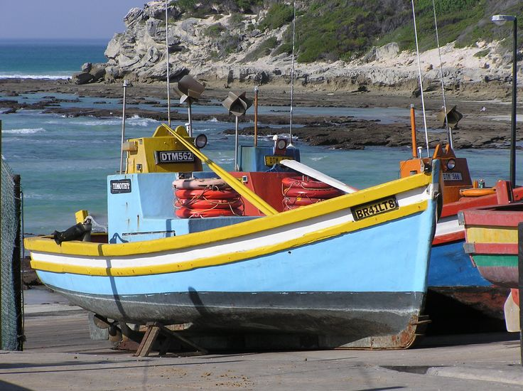 Arniston Western Cape Fisherman Fishing Boats South Africa