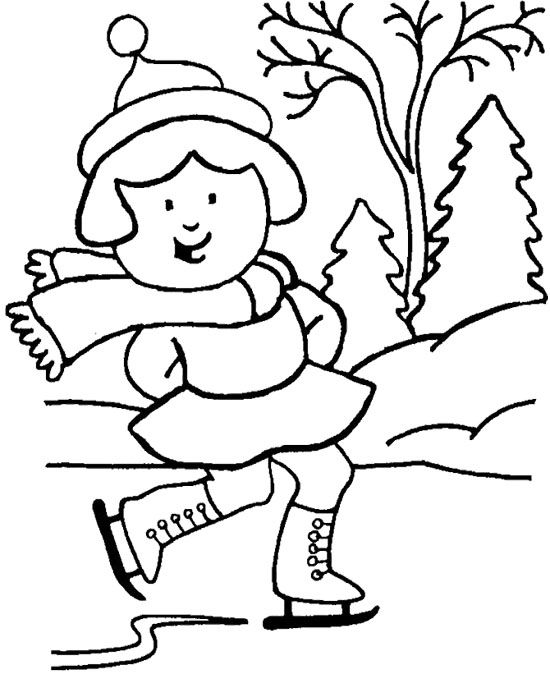 46 best Winter images on Pinterest  Colouring pages Winter and
