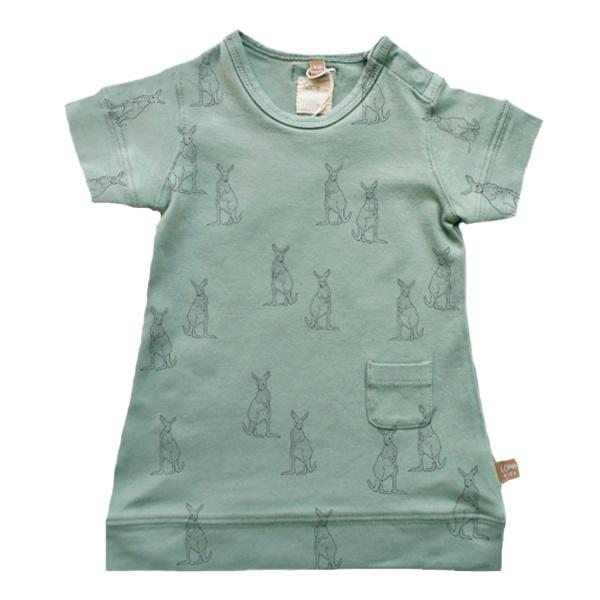 New dress! Sea-green Kangaroos