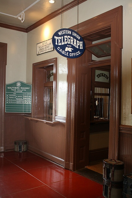The Huntsville Depot is the oldest surviving railroad depot in Alabama, cool! America!