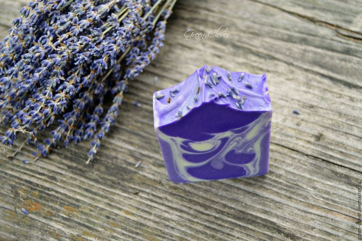 Купить Лавандовое мыло - фиолетовый, лавандовое мыло, лаванда, натуральное мыло, мыло с нуля купить