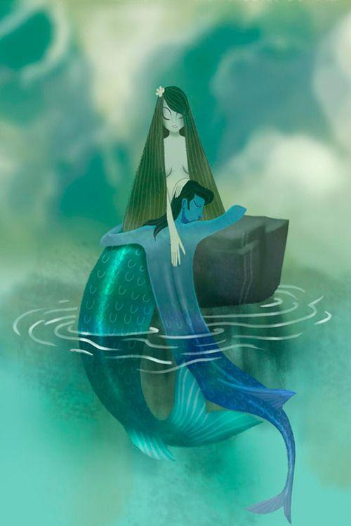 Shishir NaikMermaid Prints, Mermaid Couples, Mermaid Collection, Mermaid Art, Art Prints, Mermaid Gardens, Shishir Naiks, La Sirena, Mermaid Lust