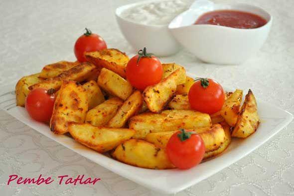 Fırında Elma Dilimli Patates Tarifi