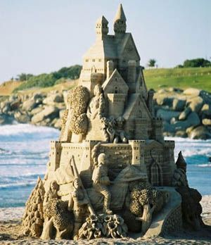 Building sandcastles in the air