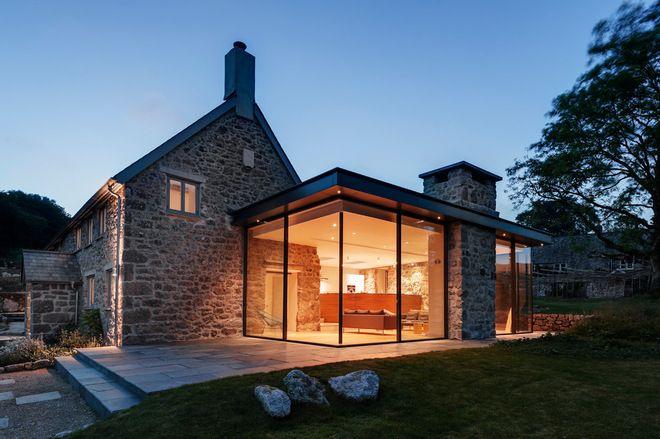 Farmhouse Exterior by van Ellen + Sheryn Architects