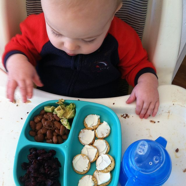 meal and snack ideas for the pre-toddler (10-18 months old)