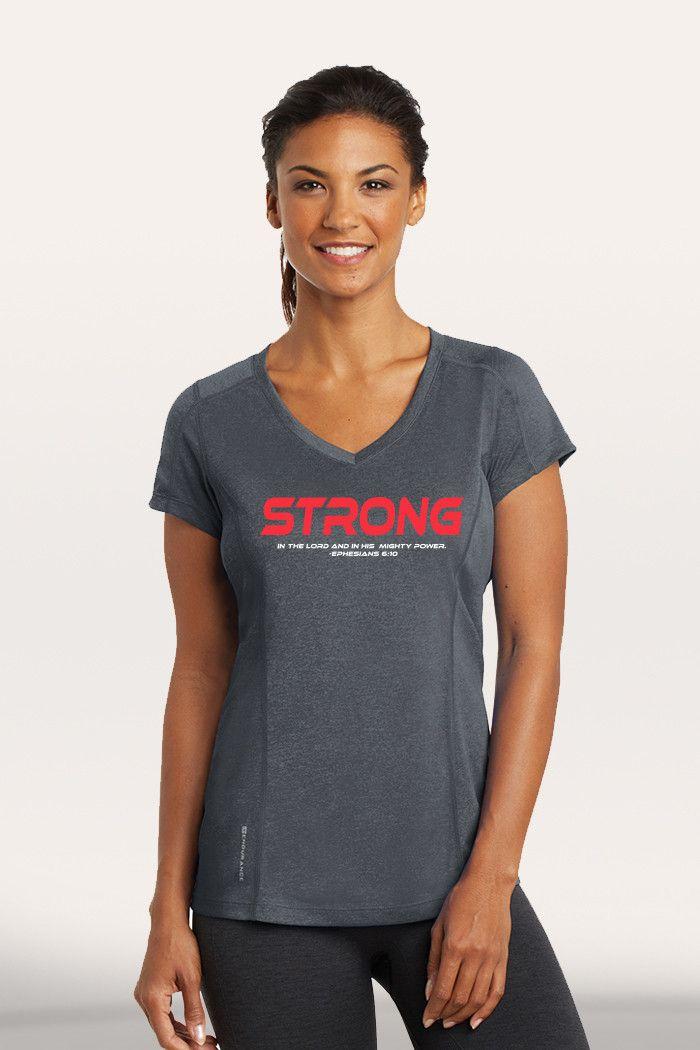 Strong Women's Active V-Neck