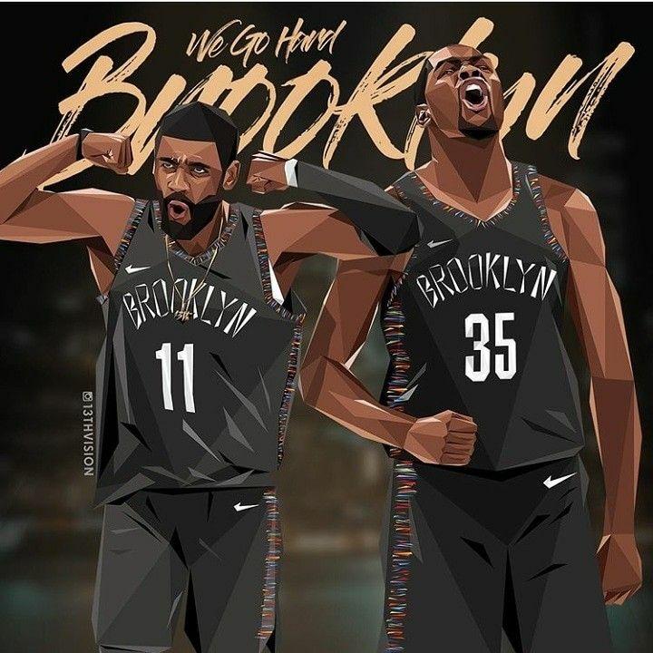 Brooklyn Nets Nba basketball art, Nba art, Basketball