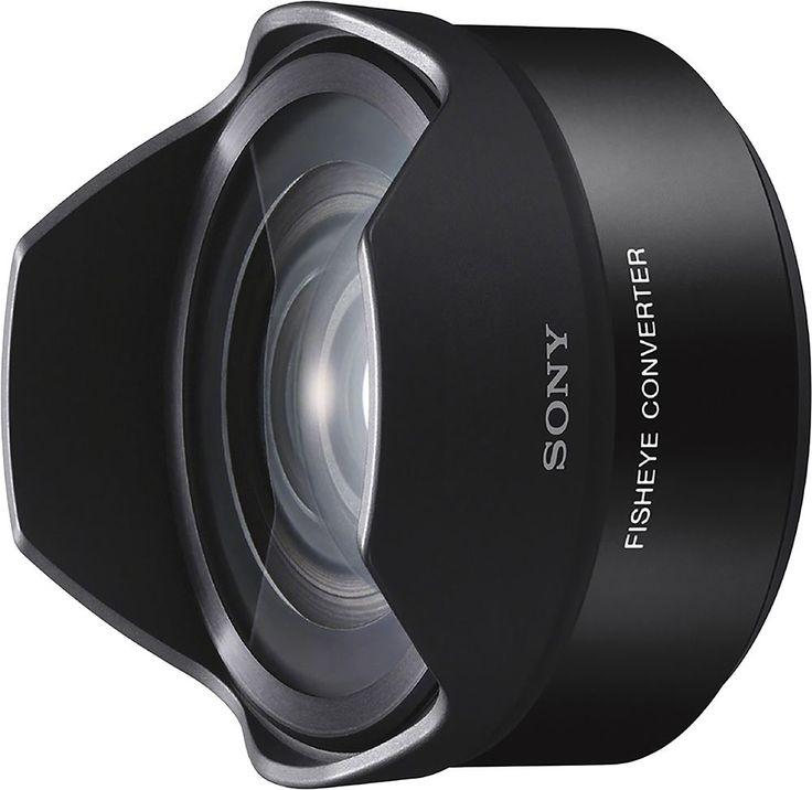 Sony - Fisheye Converter Lens for Select Sony E-Mount Cameras - Black