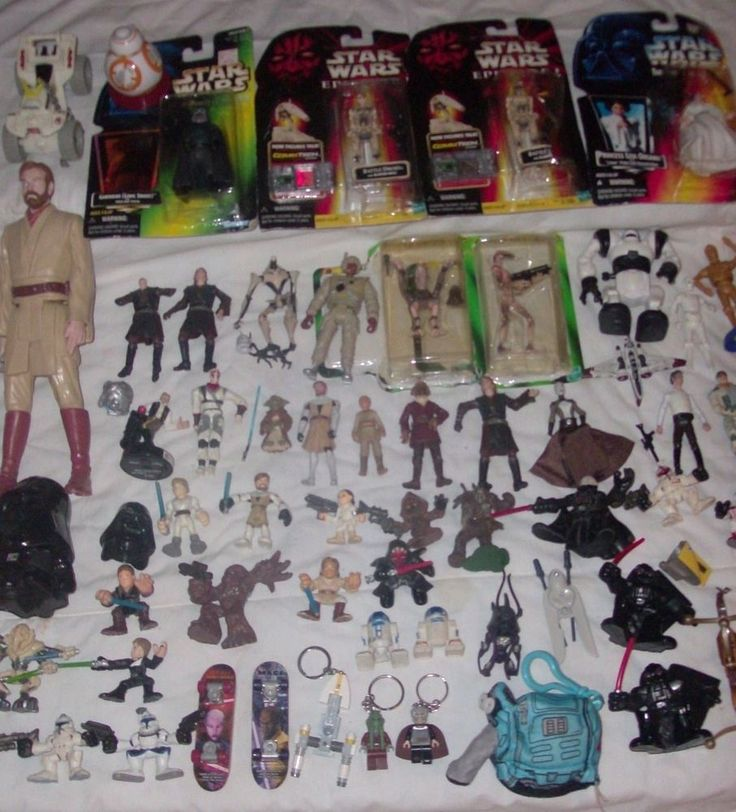 Star Wars HUGE action figure/lot Luke Skywalker,Darth Vader, Han Solo, Chewbacca #Hasbro https://www.ebay.com/itm/183112810518