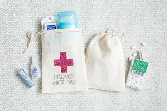 Bachelorette Hangover Kit Bags 4 x 6 Bachelorette by becollective