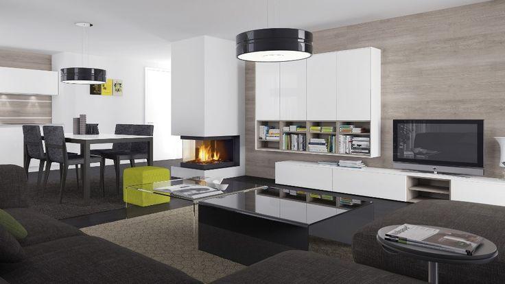 nabytok HANAK do obyvacky na mieru, nadcasovy interier prepojenia - led für wohnzimmer