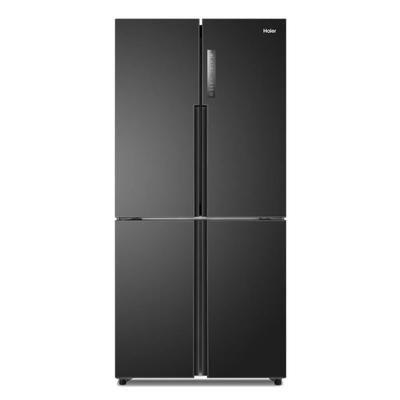 HAIER HTF-456DN6 - Réfrigérateur multi-portes - 456L (316+140) - Froid ventilé - A+ - L 83cm x H 180 cm - Noir