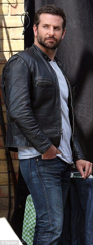 Bradley Cooper joined by Uma Thurman on the London set of Adam Jones