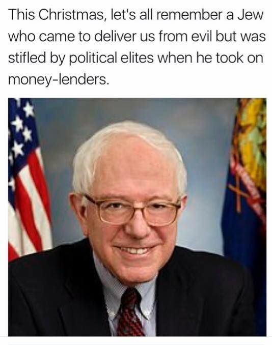Bernie was burned.   /2016
