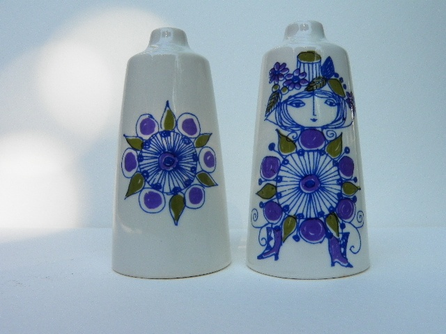 Figgjo Flint Salt and Pepper Shakers