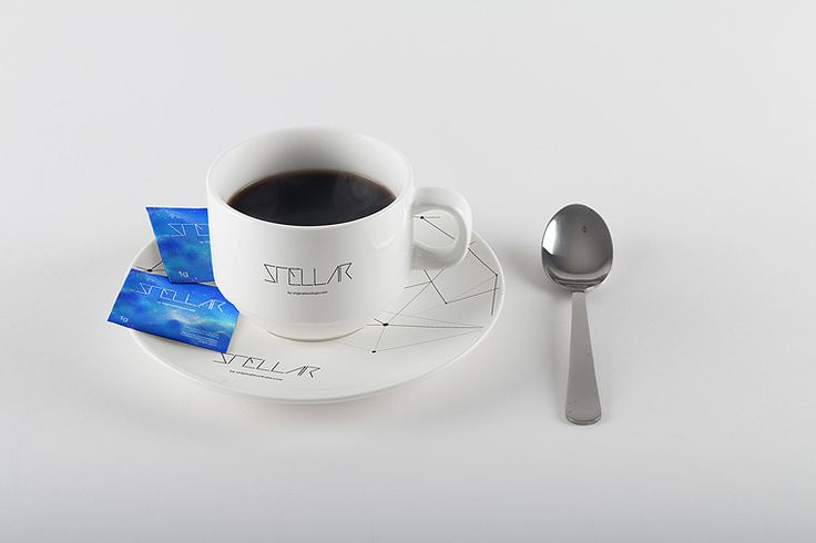 Original Mockups - Coffee Cup and Sugar Bags Mockup 01