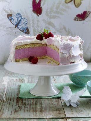 raspberry cheesecake - cake