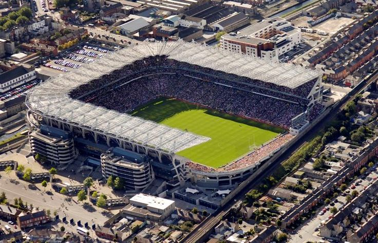 Croke Park, Dublin, Ireland, one of the finest and biggest stadiums in Europe.