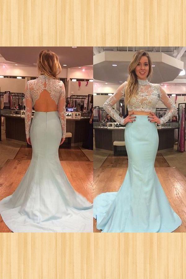 Hot Sale Outstanding Evening Dresses Blue 29310982f