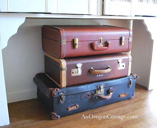 57 best Antique Suite. cases images on Pinterest   Vintage luggage ...