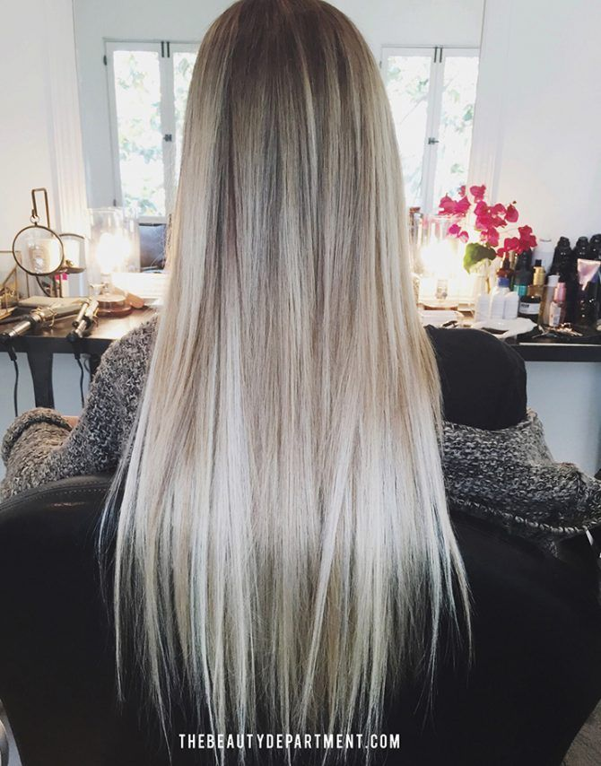 If you're a blonde or even if youhave highlightson darker hair, you knowthat over time the color can turn a hot shade of mellow yellow.It'shard to get excited about your hair when the tone is off. (Trumpets) Enter purple shampoo. I've been usingvarious purple shampoos on my clients formany years.I can tell when someone blonde/highlighted...