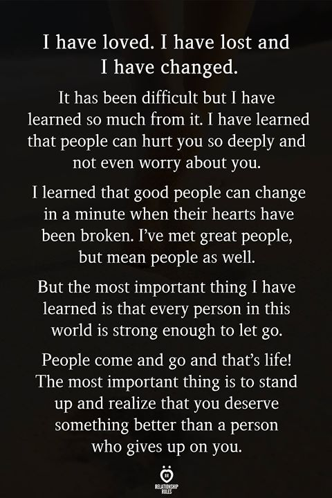 I Have Cherished. I Have Misplaced And I Have Modified
