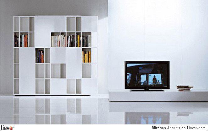 Blitz - Acerbis - design lodovico acerbis - kasten - wandkasten - dressoirs
